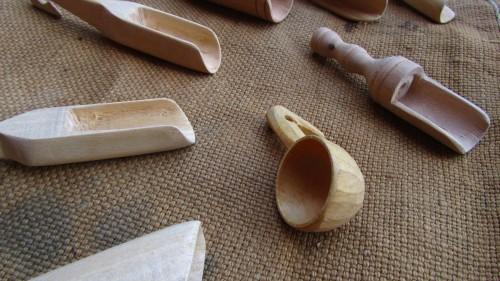 Cucchiaini in legno